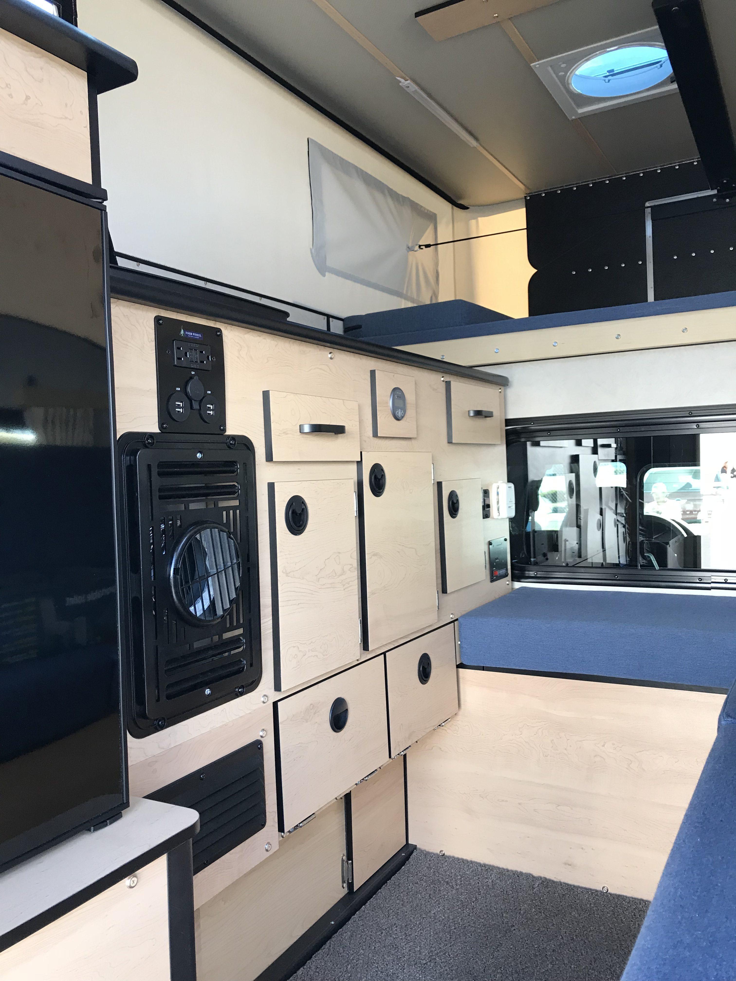 Four Wheel Campers - Inside storage