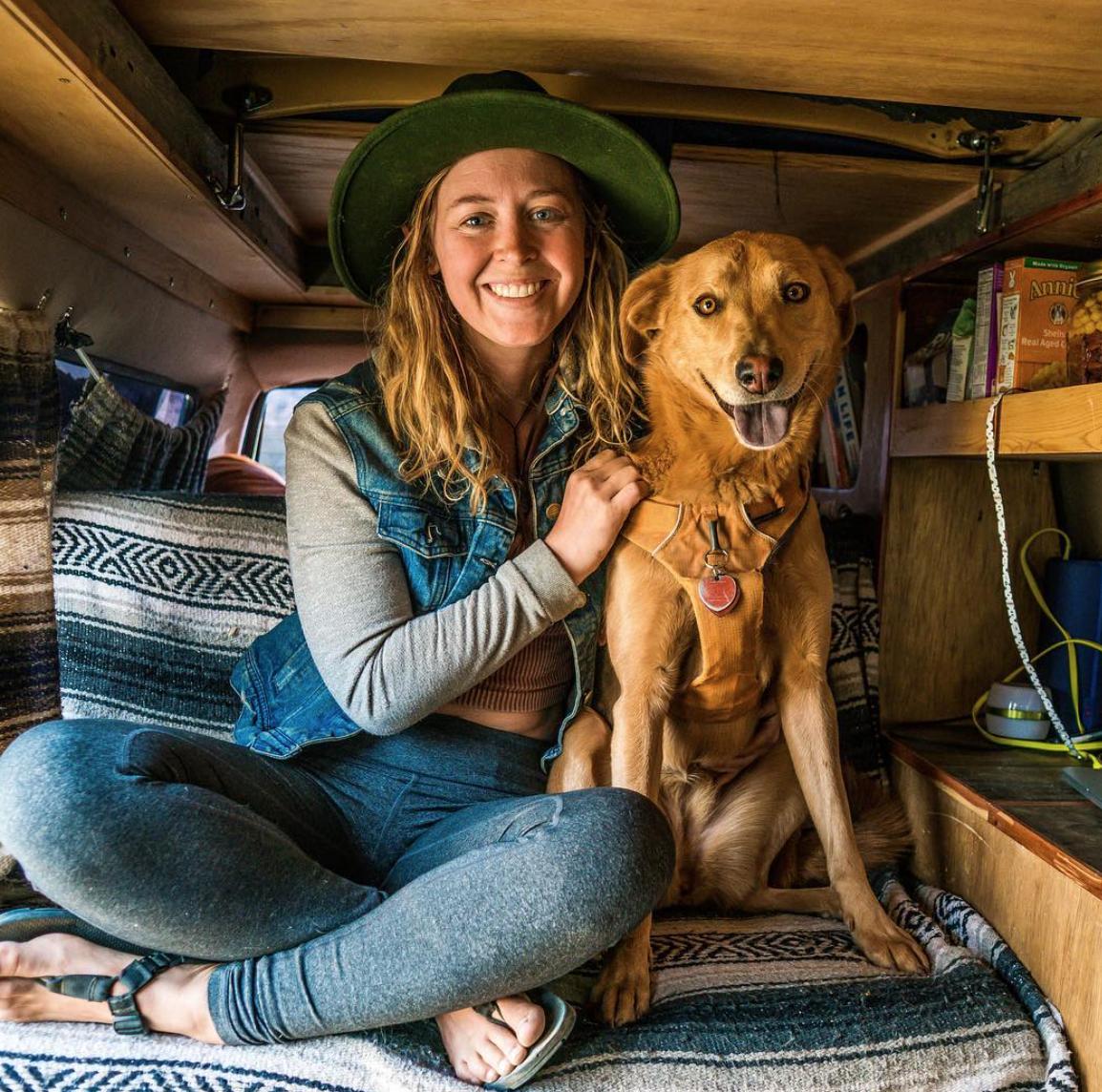 Van Life Instagram - tiny house tiny footprint
