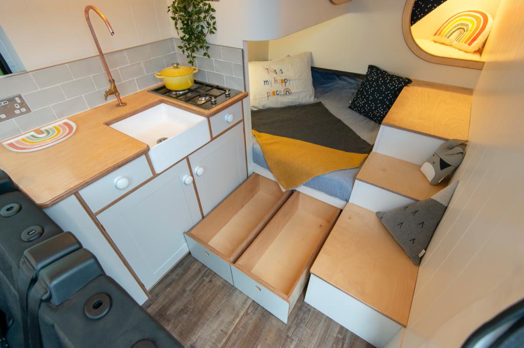 camper converions - Jubel storage