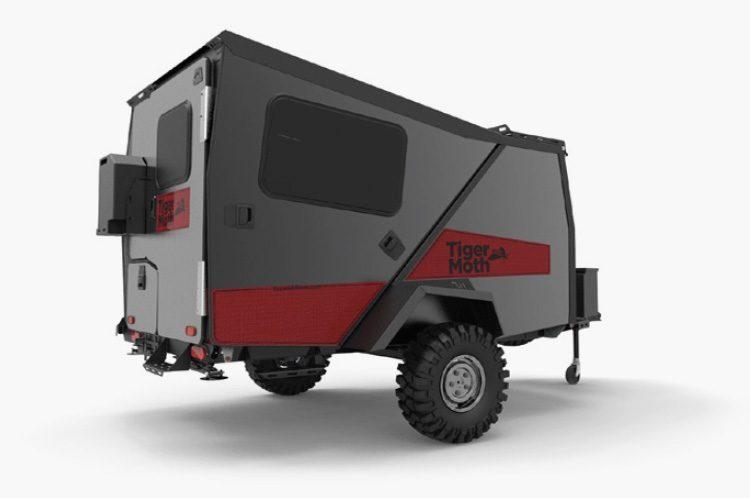 camper trailer - camp