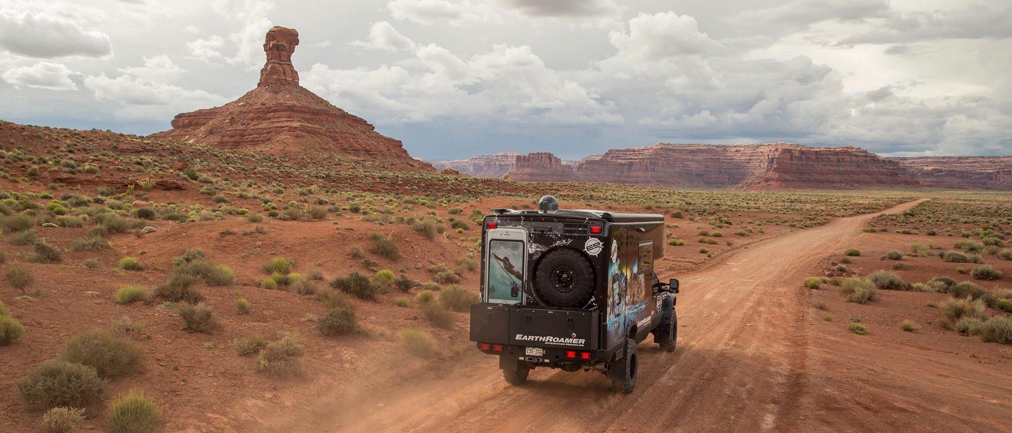 Ford EarthRoamer - off road