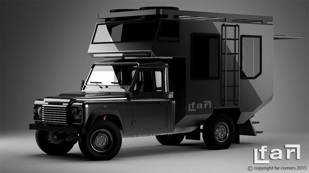 Land Rover Camper - Concept