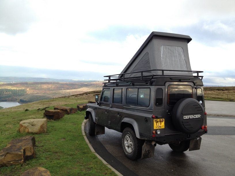 Land Rover Camper - outdoors
