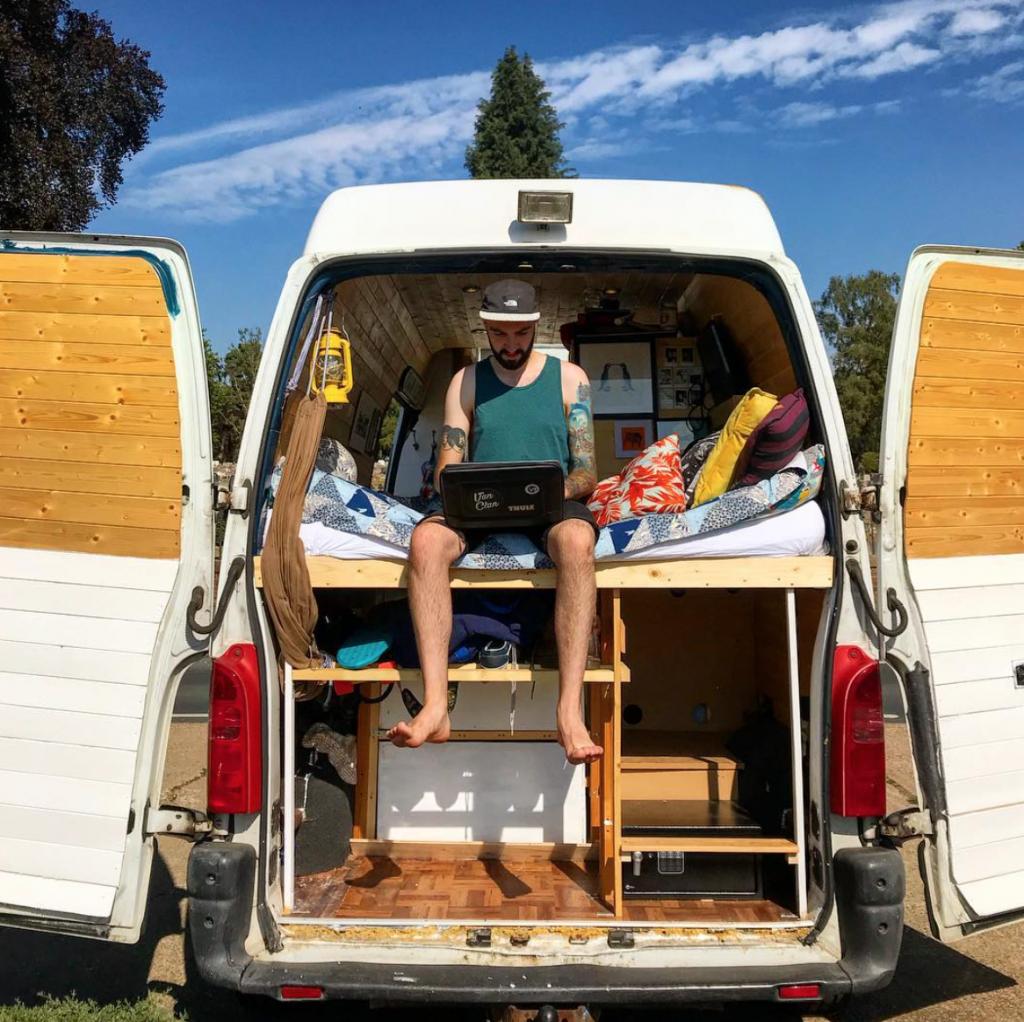 camper conversion - ventilation