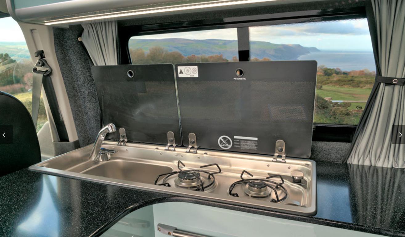 Ford Transit Campervan - burner