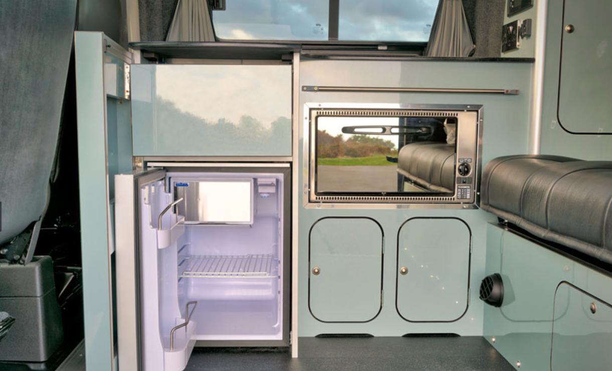 Ford Transit Campervan - Kitchen