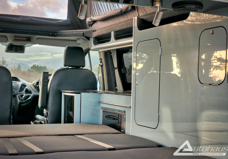 Ford Transit Campervan - bed