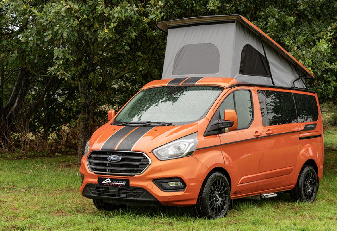 Ford Transit Campervan - spartan