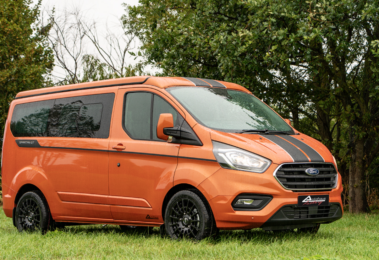 Ford Transit Campervan - camping