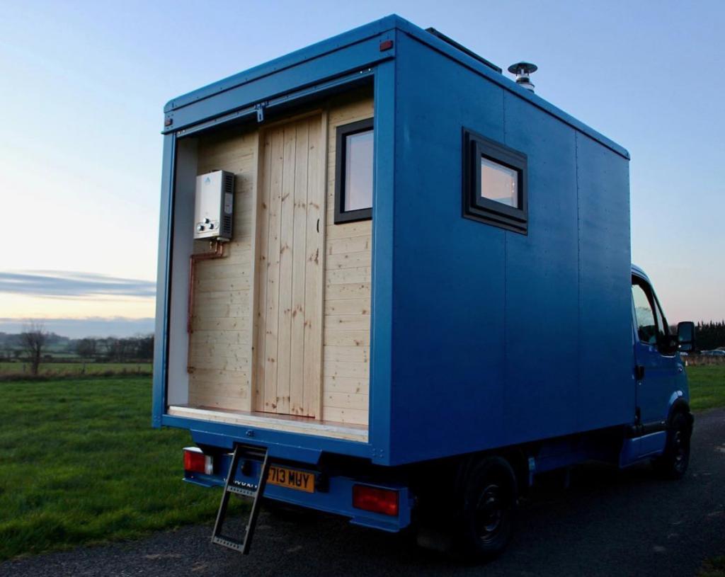 best van to live in - Luton