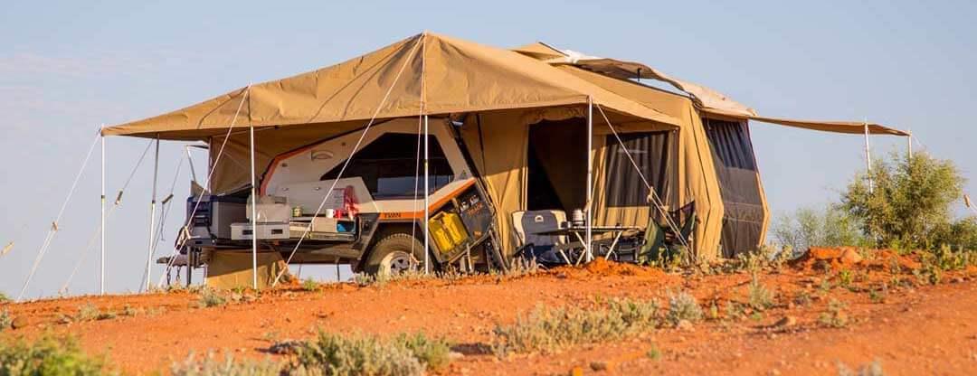 Off road trailer - desert