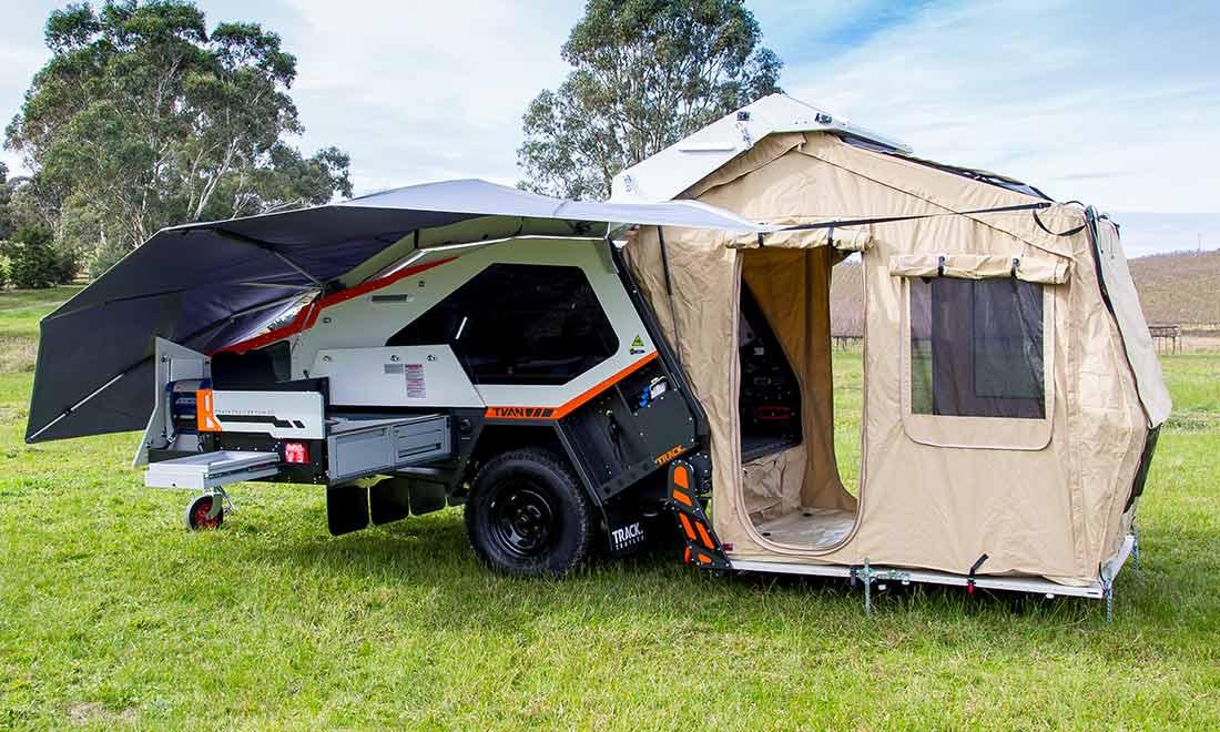Off road trailer - tent