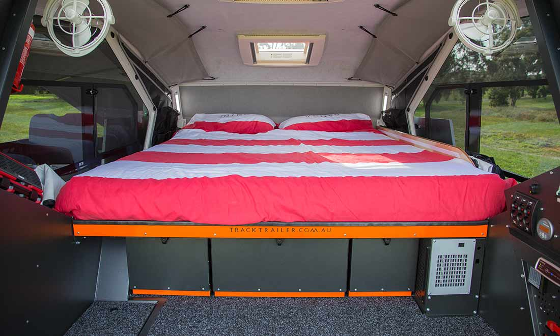 Off road trailer - bed