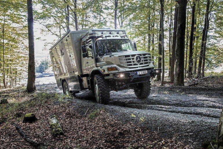 Mercedes Camper - Off grid