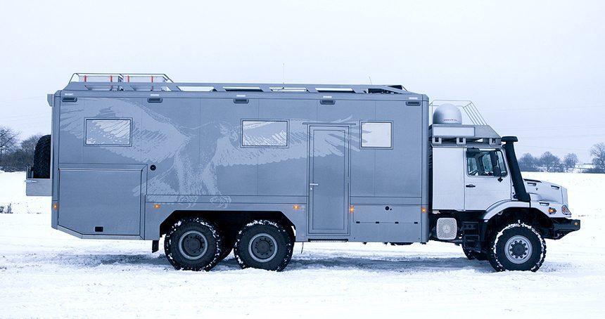 Mercedes Camper - Side