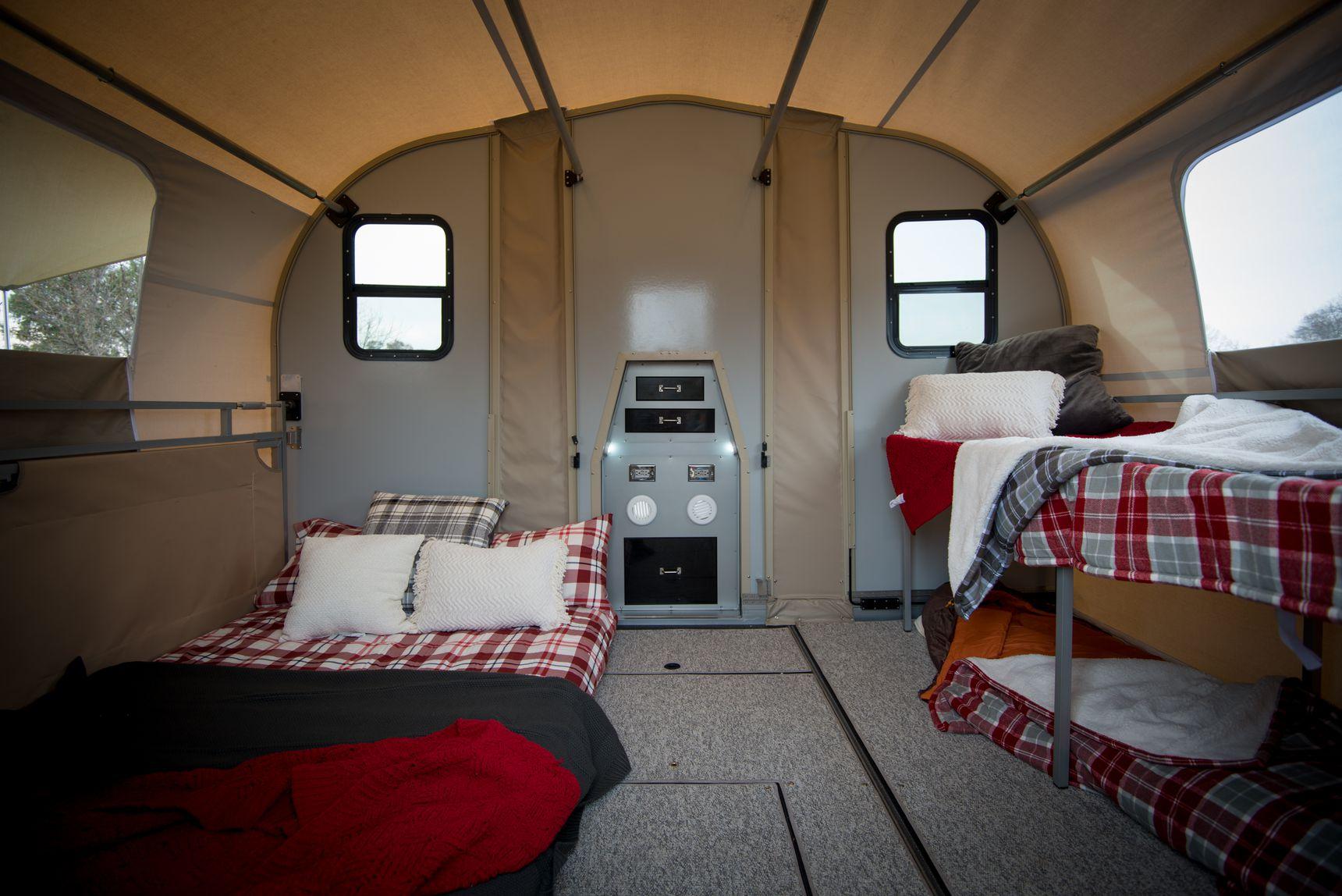 travel trailer - inside