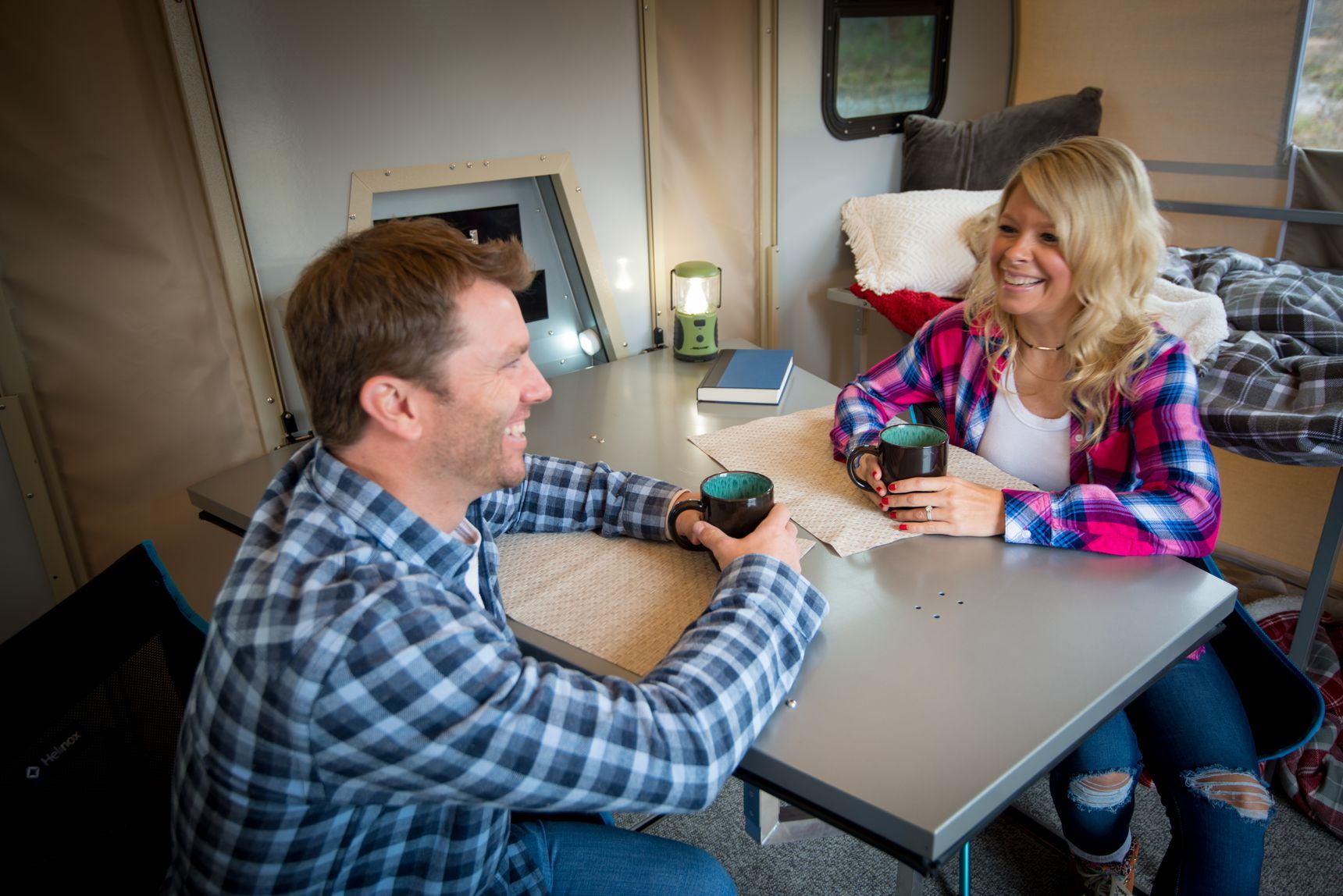 travel trailer - sitting