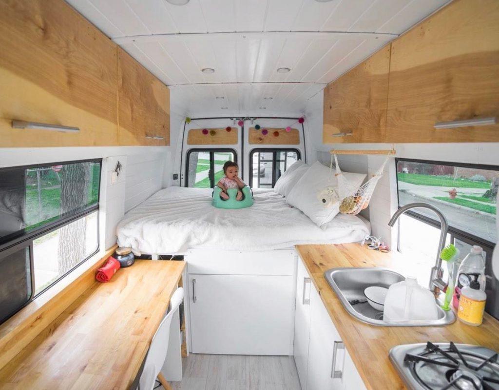 build a campervan - dhomeonwheels