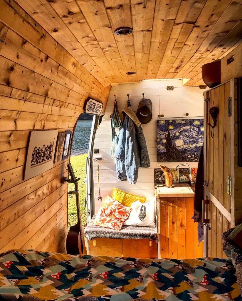 build a campervan - vincent
