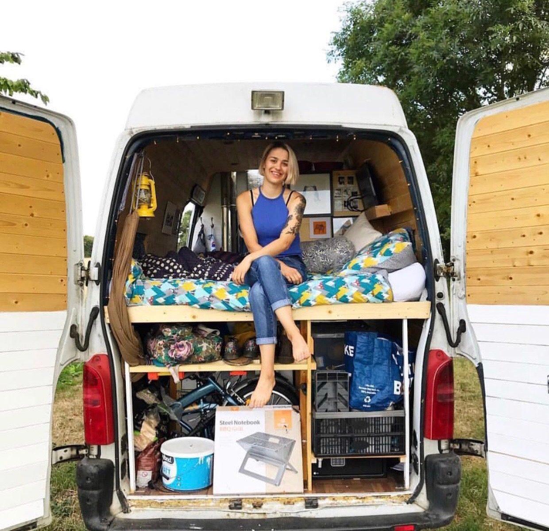 travelling in a van - spares