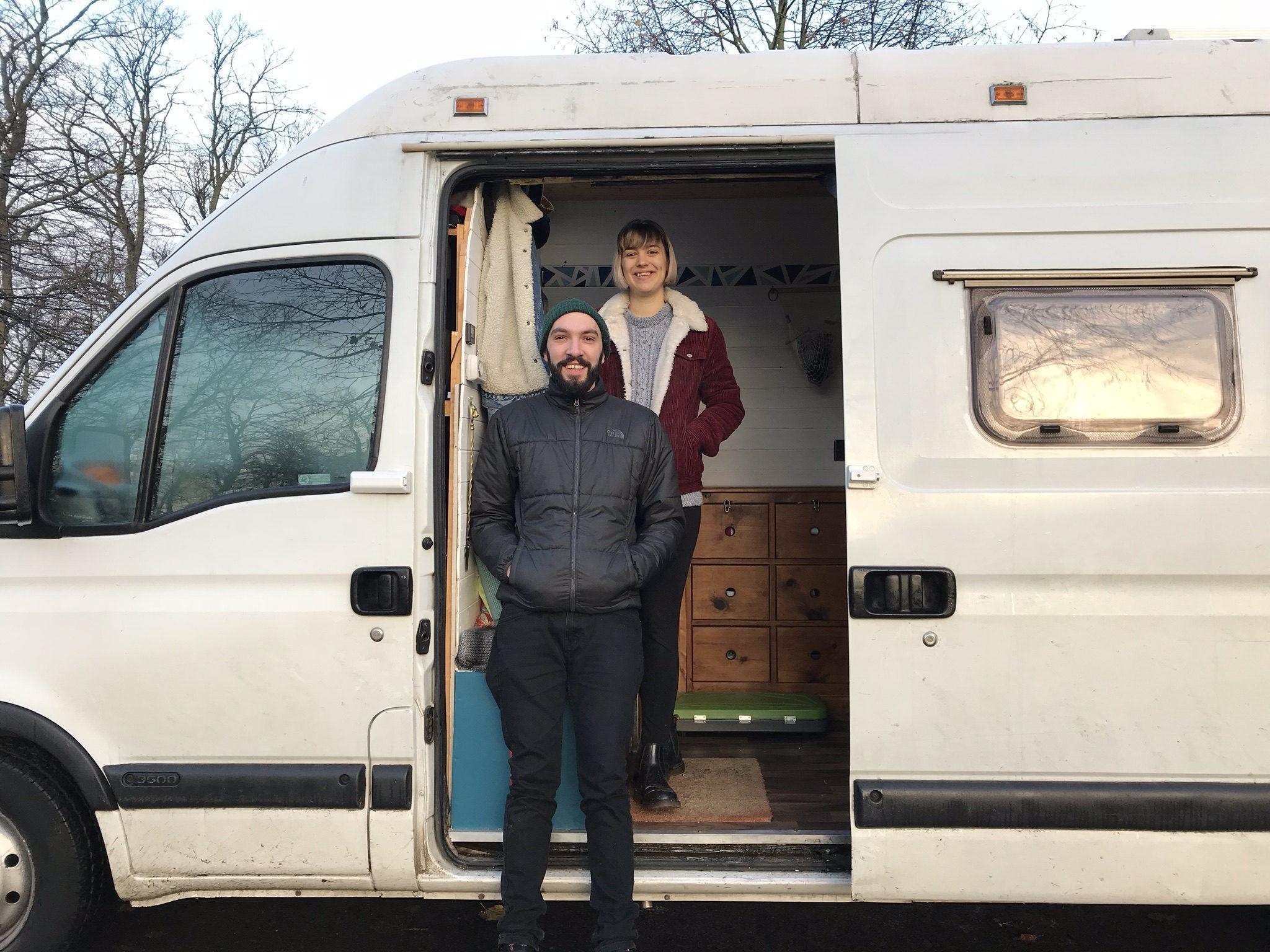 Travelling in a van - faith