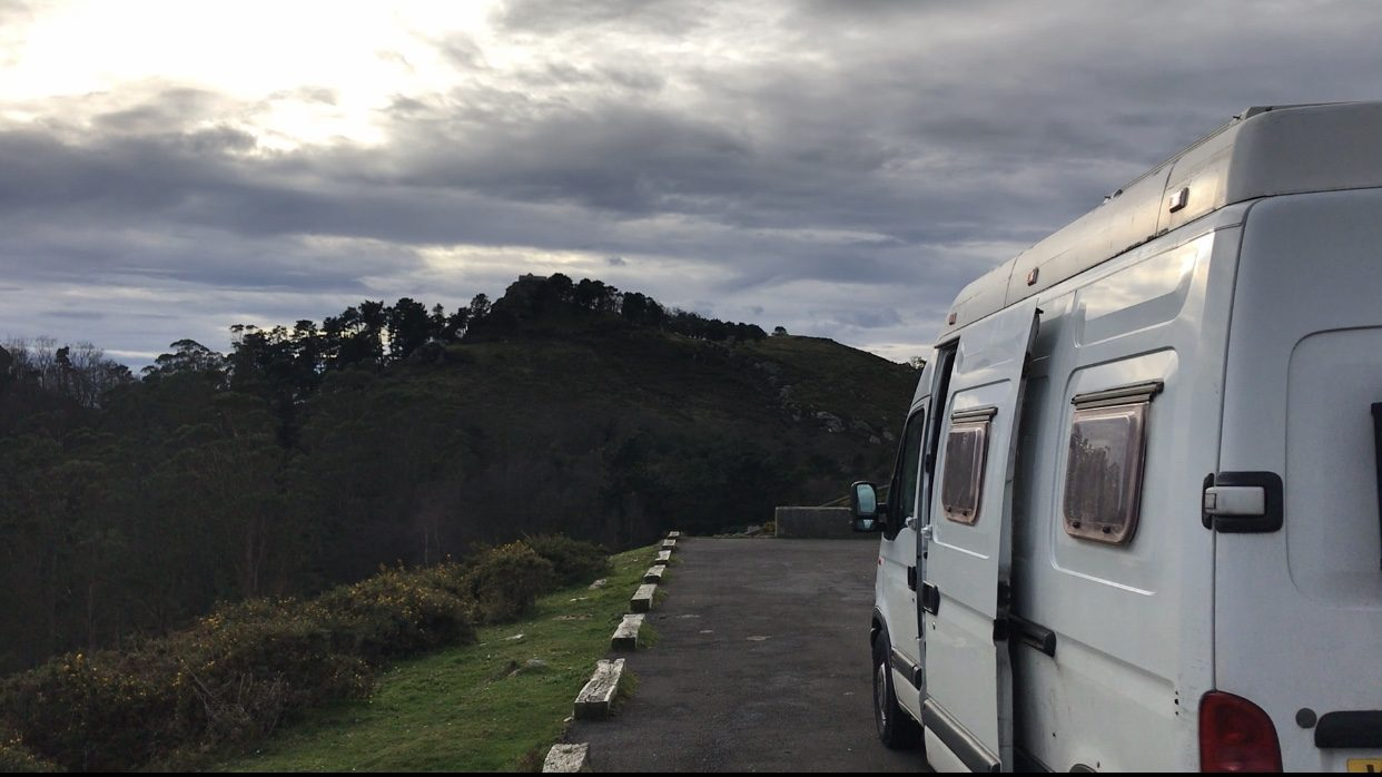 Travelling in a van - budget