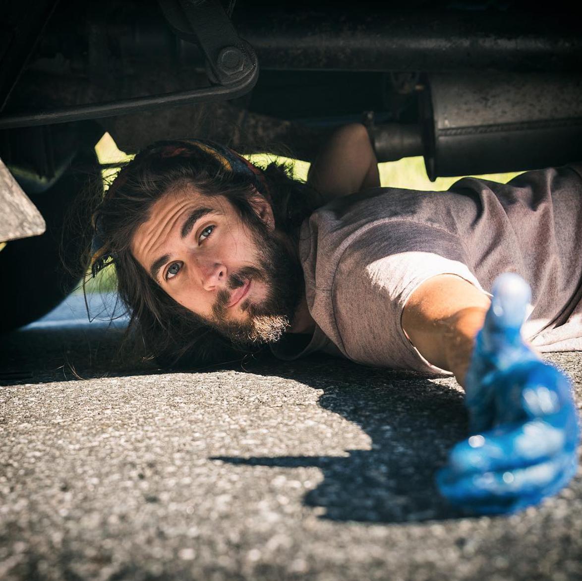 Living the van life - repairs