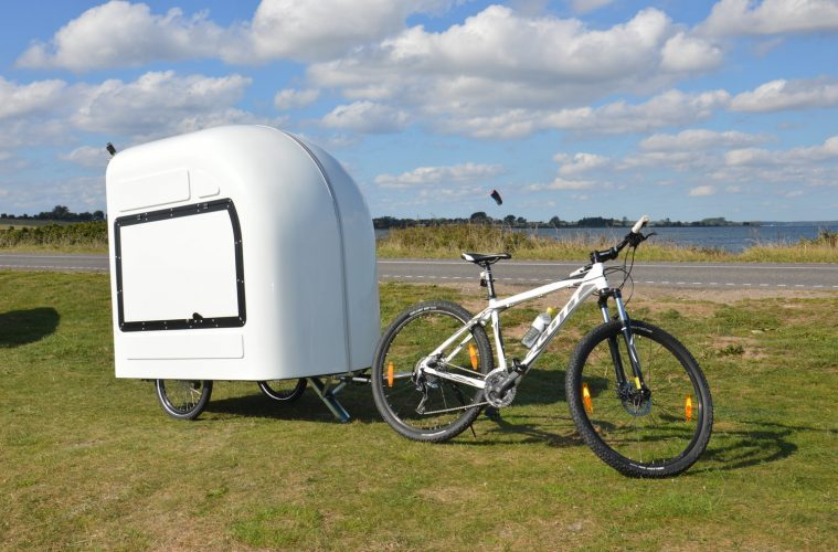 small campers - bicycle camper