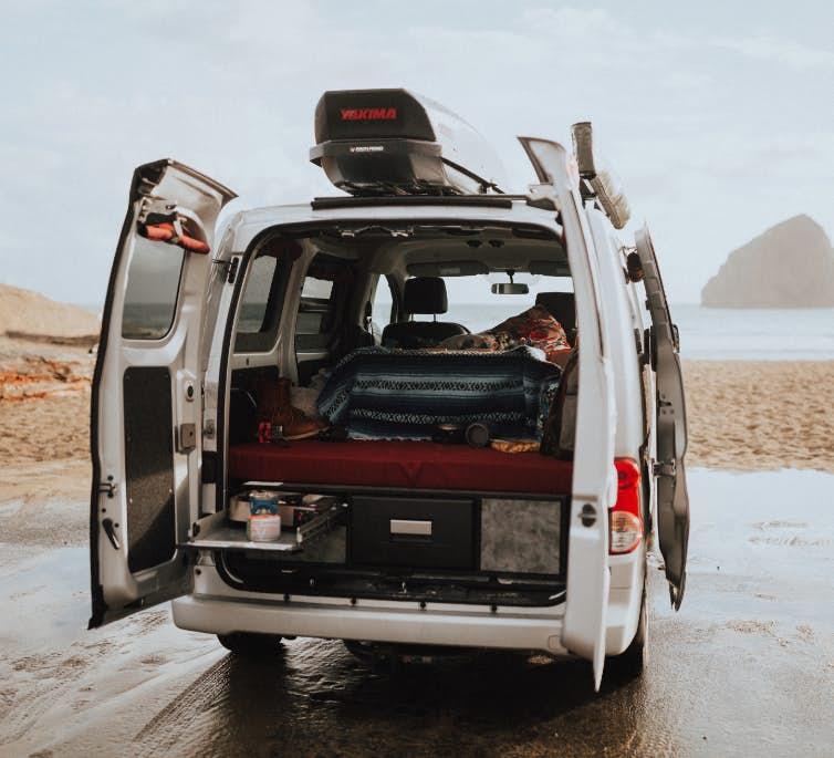 Cheap Camper - cargo