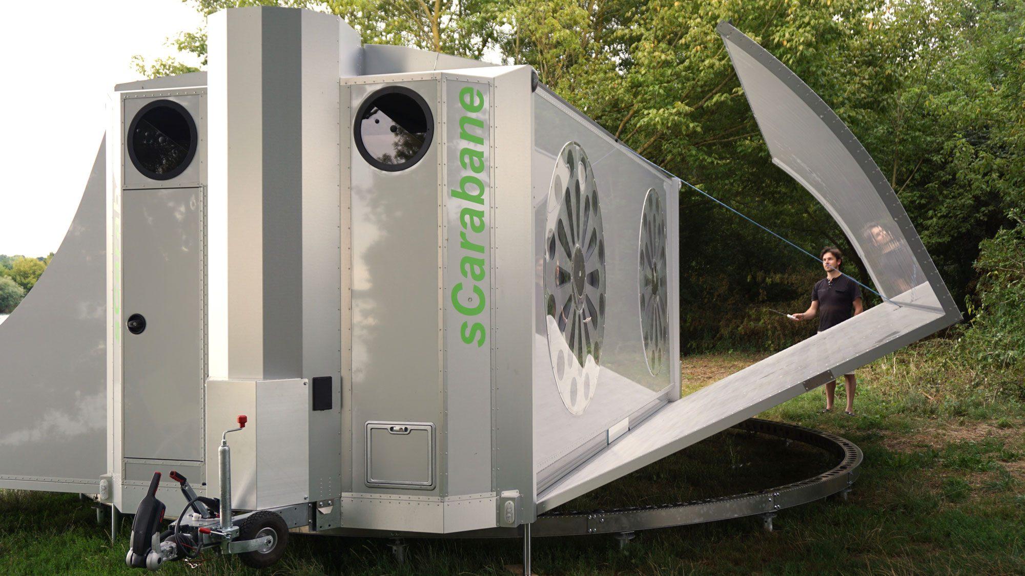 Off Grid Caravan - expanding