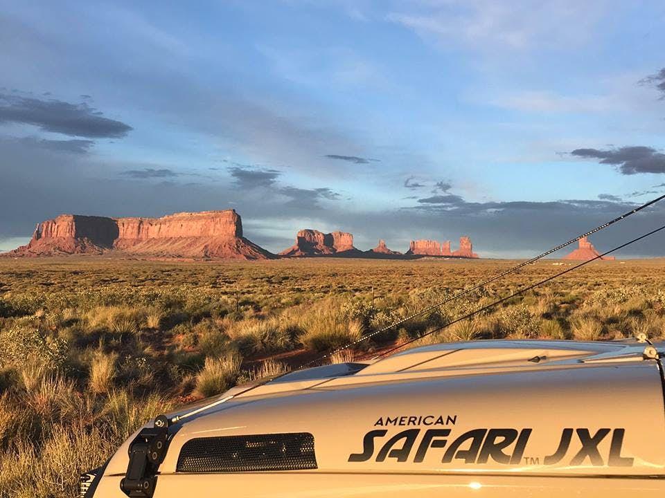 Jeep Wrangler Camper - safari xl