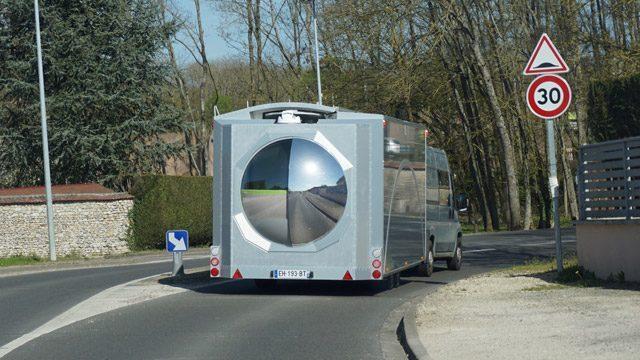 Off Grid Caravan - rear