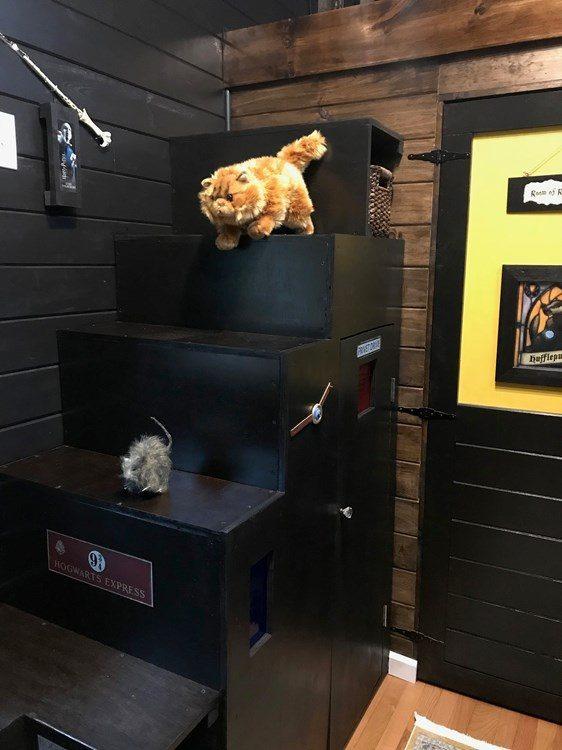 Harry Potter House - Understairs Cupboard