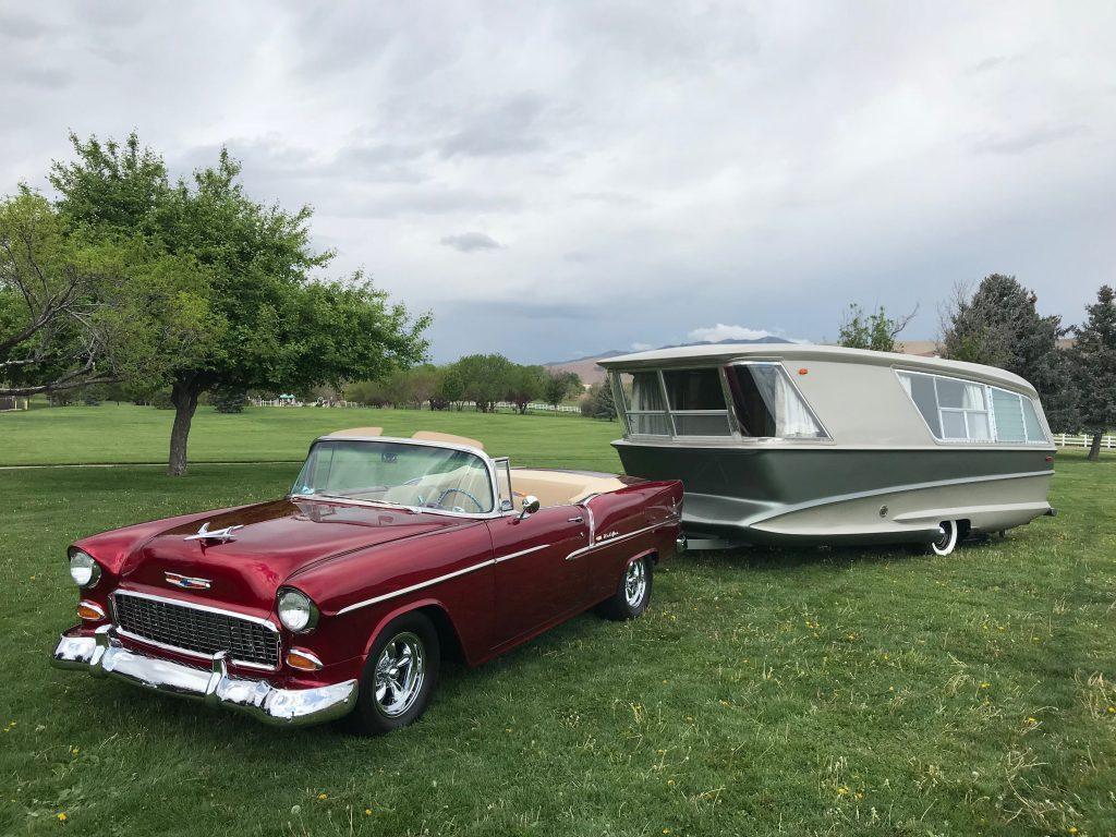 vintage camper car