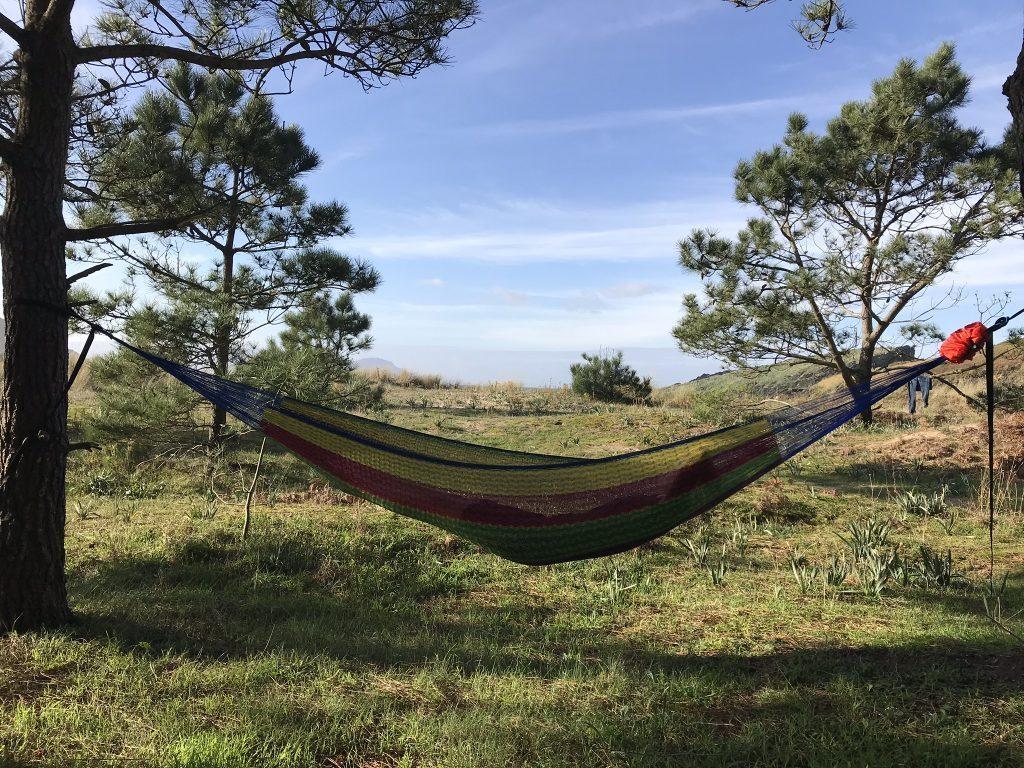 travel hammock - relax