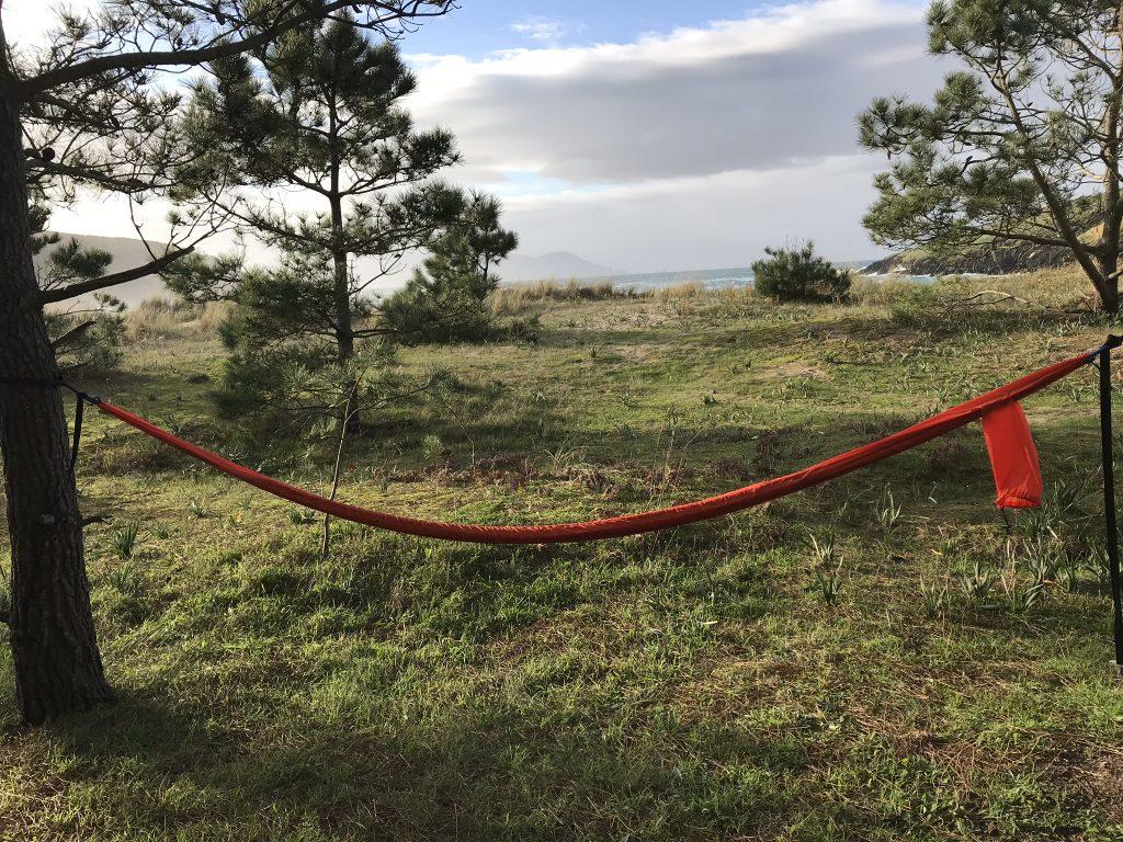 travel hammock - packed