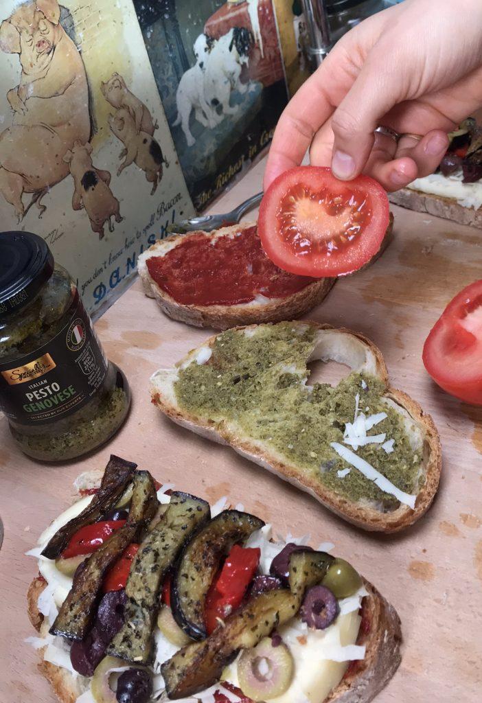 vanlife recipes - sandwich