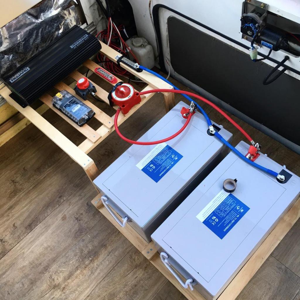 camper conversion - electrics