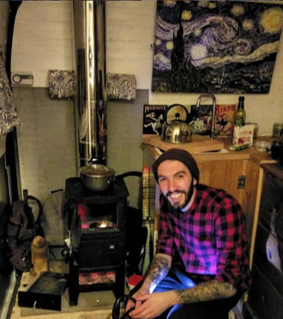 camper conversion - heating