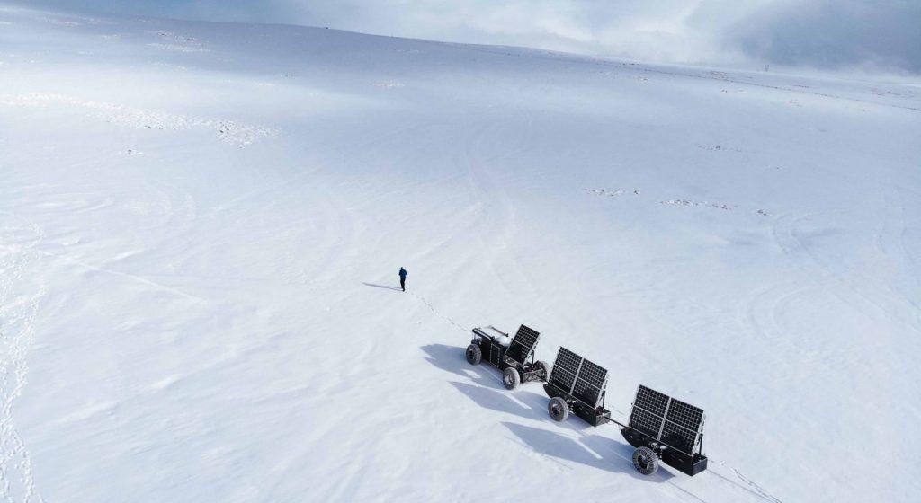 off grid adventure - snow