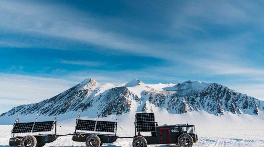 off grid adventure - on the ice