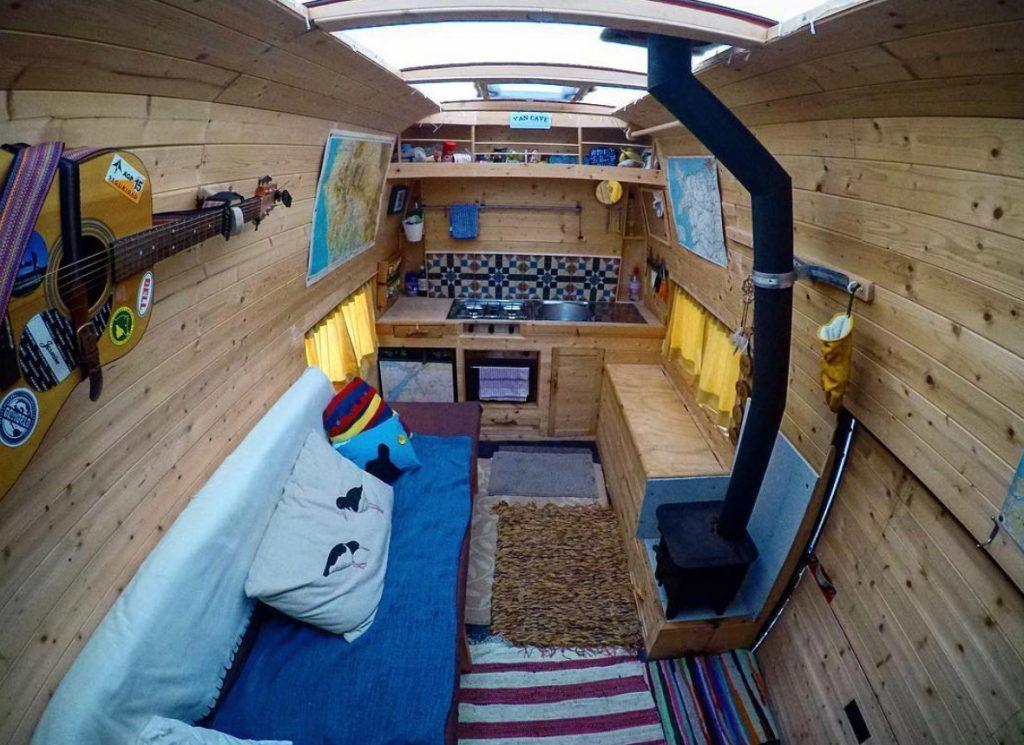 van life ideas - the van