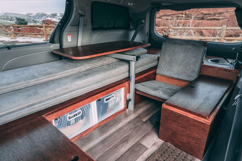 affordable camper - inside