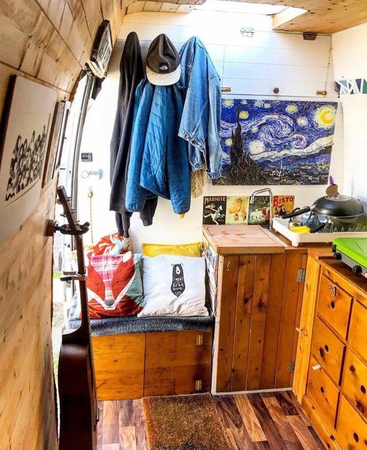 Living off grid - vincentvanlife