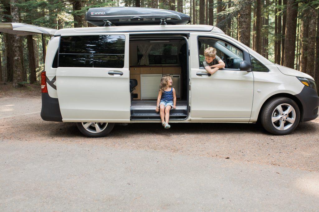 compact camper van - peace vans