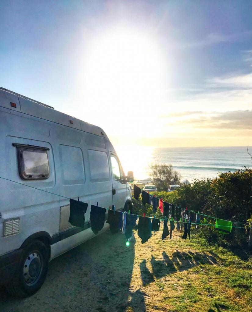 van life costs - washing