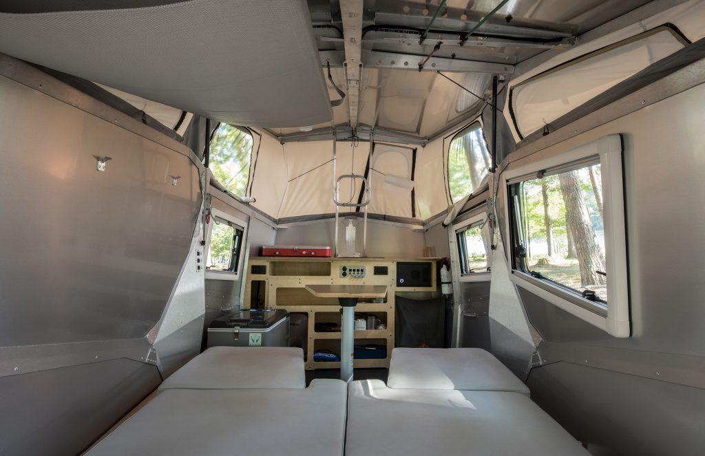 Cricket Camper - inside