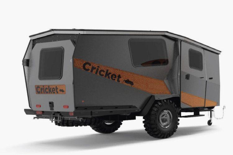 cricket camper - outside