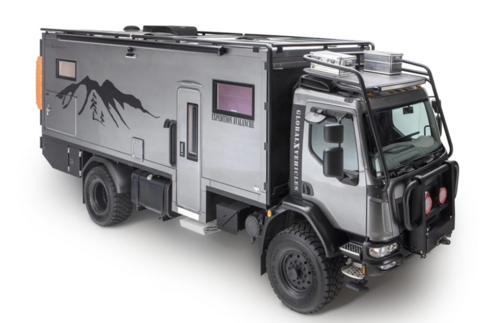 Expedition truck - exterior