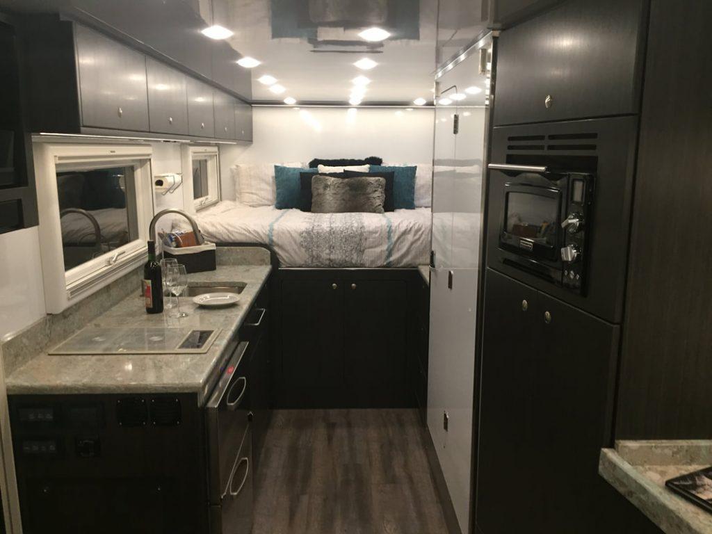 Expedition truck - interior